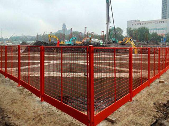 工地基坑临时围栏