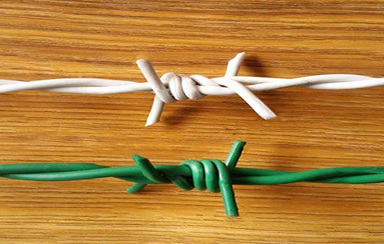 正反拧刺绳